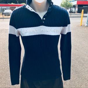 Vintage Tommy Hilfiger Navy Blue Sweater